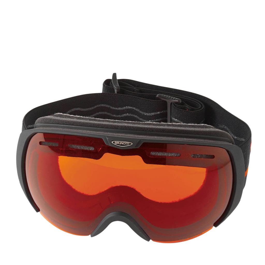 Brunotti skibril Deluxe 3 Unisex Goggle, Zwart/logo