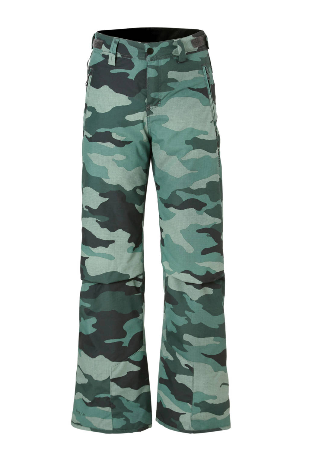 Brunotti skibroek camouflage groen, Groen