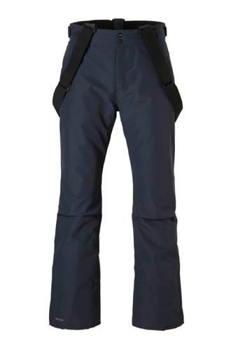 skibroek Footstrap donkerblauw