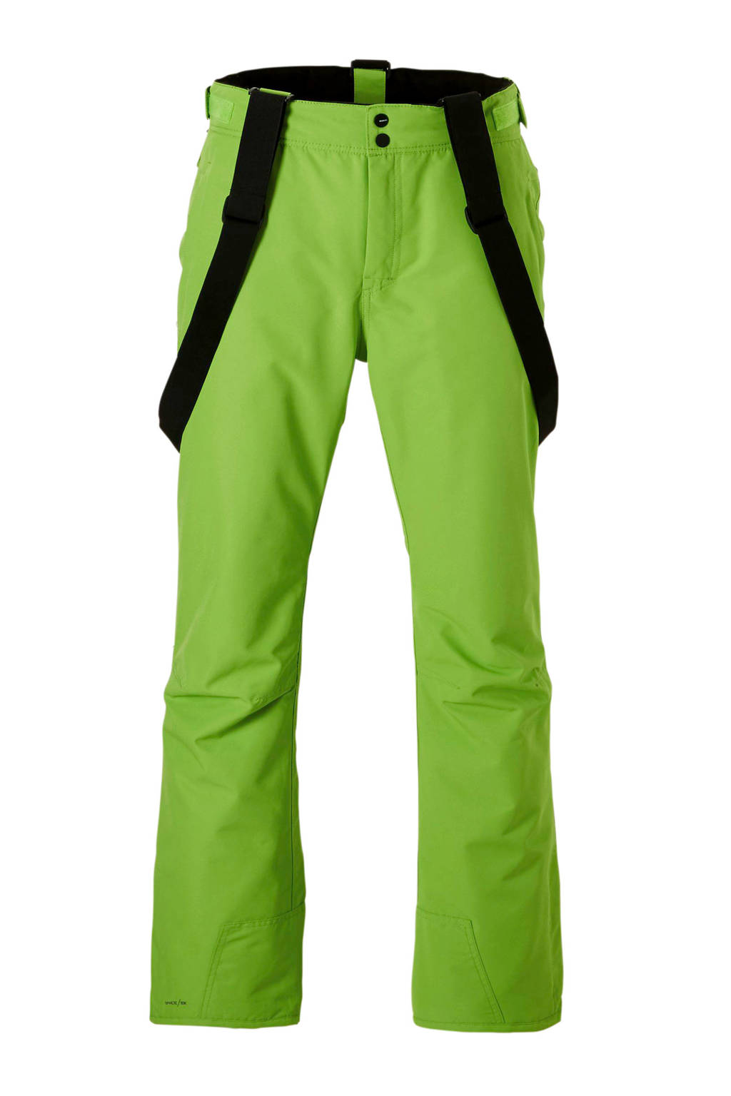 Brunotti skibroek Footstrap groen, Groen