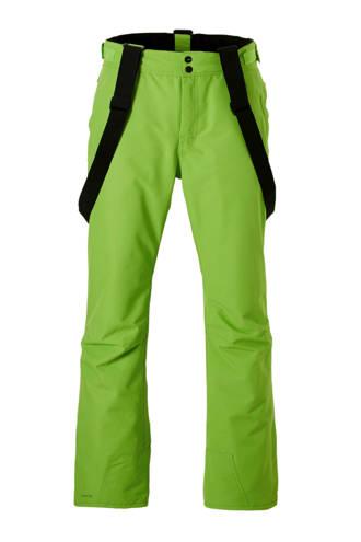 skibroek Footstrap groen