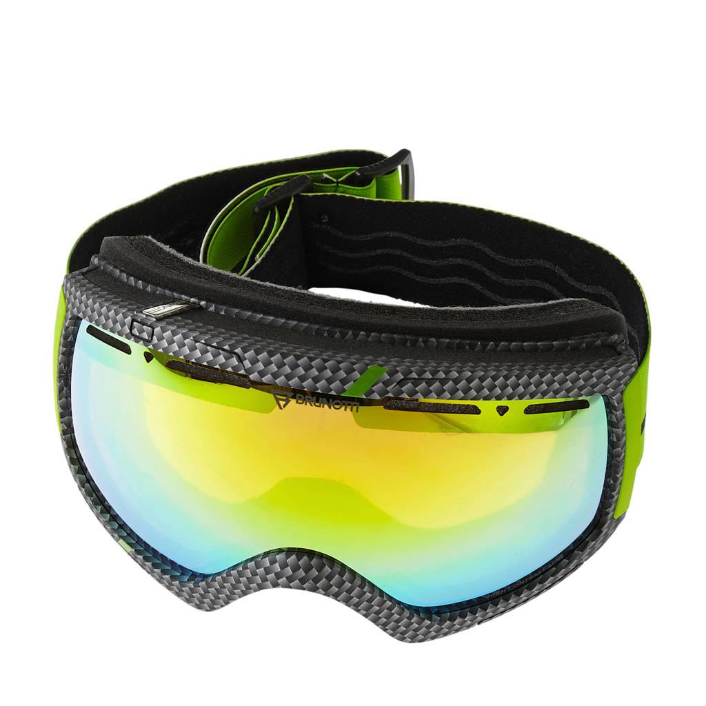 Brunotti skibril Downhill 3 Unisex Goggle, Groen/grijs