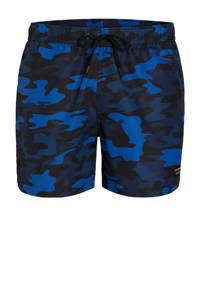 Björn Borg zwemshort camouflageprint blauw, Marine/blauw
