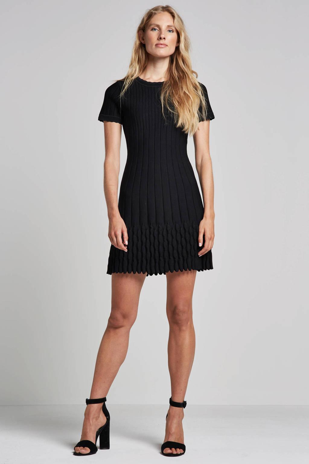 NIKKIE Jade jurk, Zwart