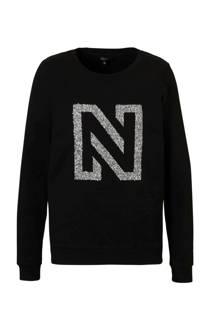 NIKKIE N Logo Glitter sweater (dames)