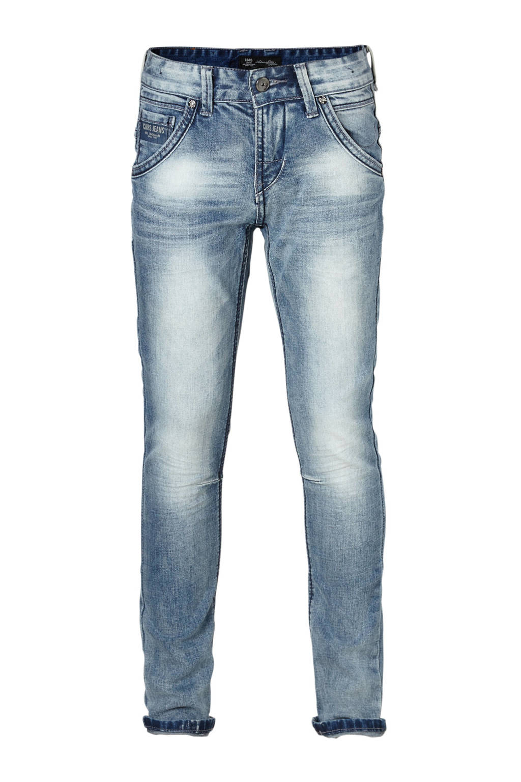 Cars slim fit jeans Yareth, Light stonewashed