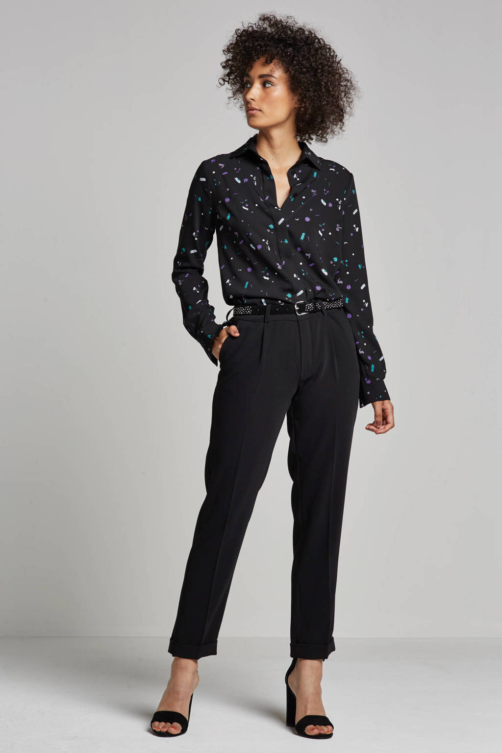 NIKKIE Milkyway blouse, Zwart