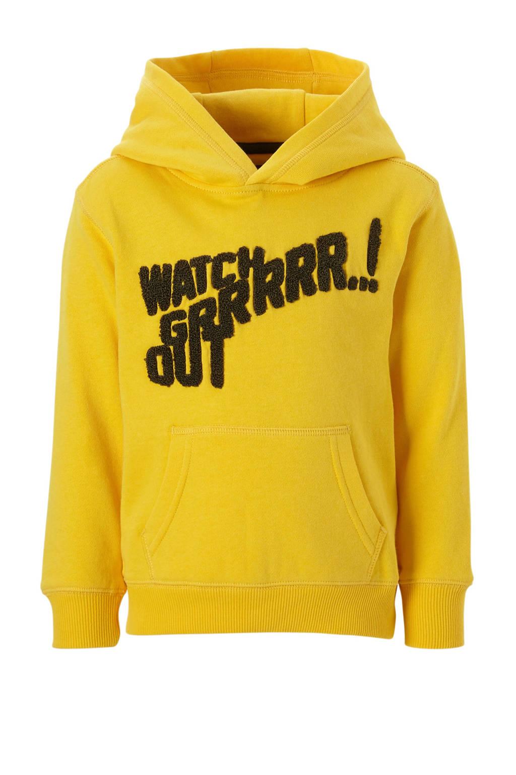 Mitch hoodie geel, Geel