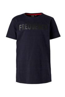 Mitch T-shirt met strepenprint