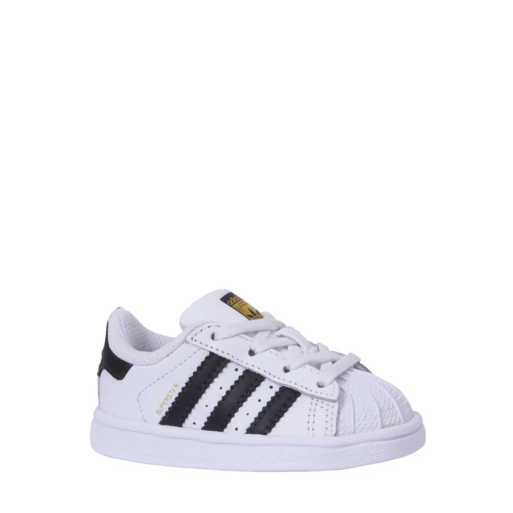adidas originals Superstar I sneakers kids, Wit/zwart
