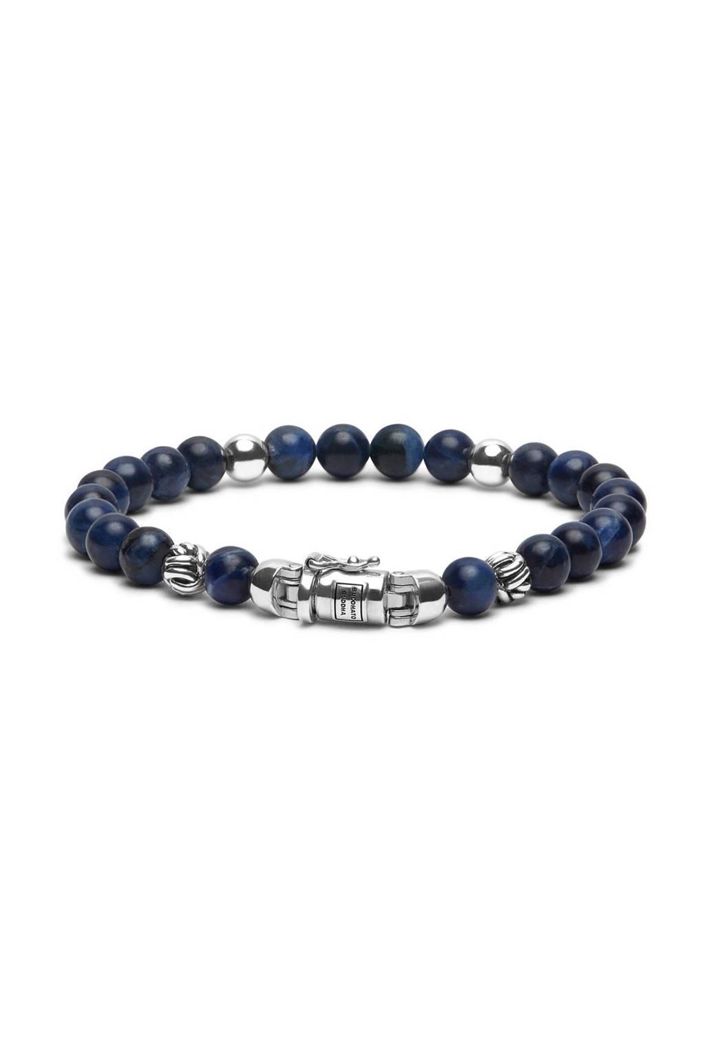 Buddha To Buddha Spirit Bead armband, Donkerblauw