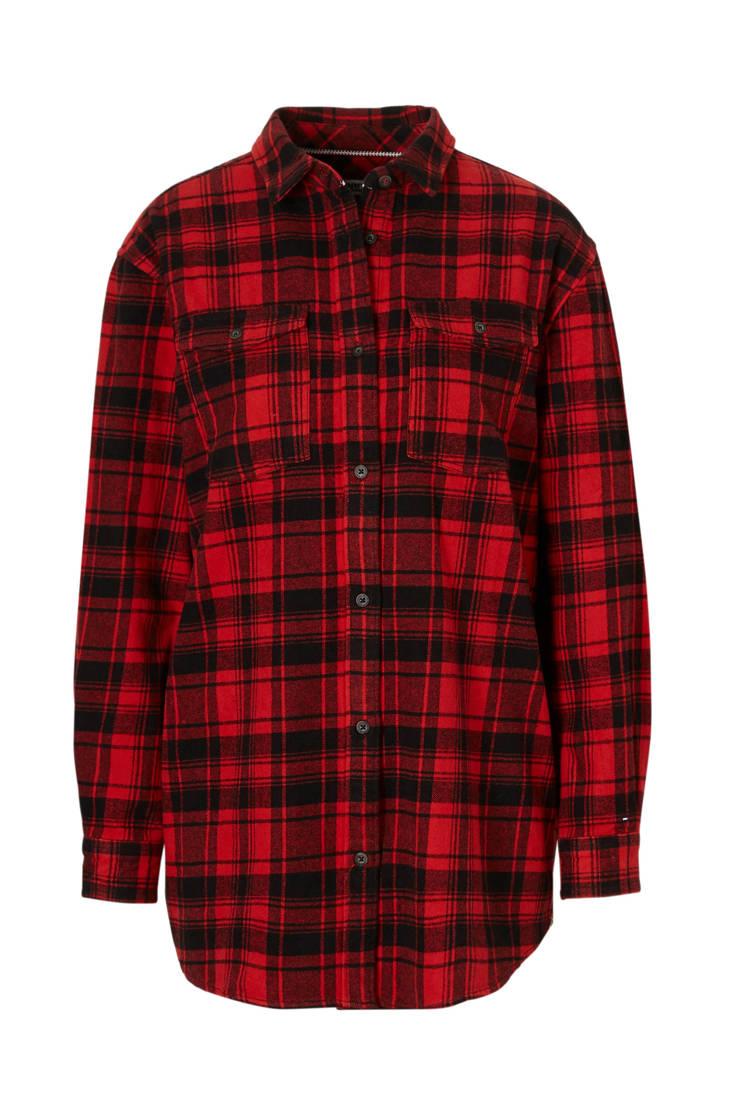 Tommy met met blouse blouse blouse met Tommy Jeans Tommy blouse ruitdessin Jeans Jeans ruitdessin ruitdessin Tommy Jeans ACdnFZFwq