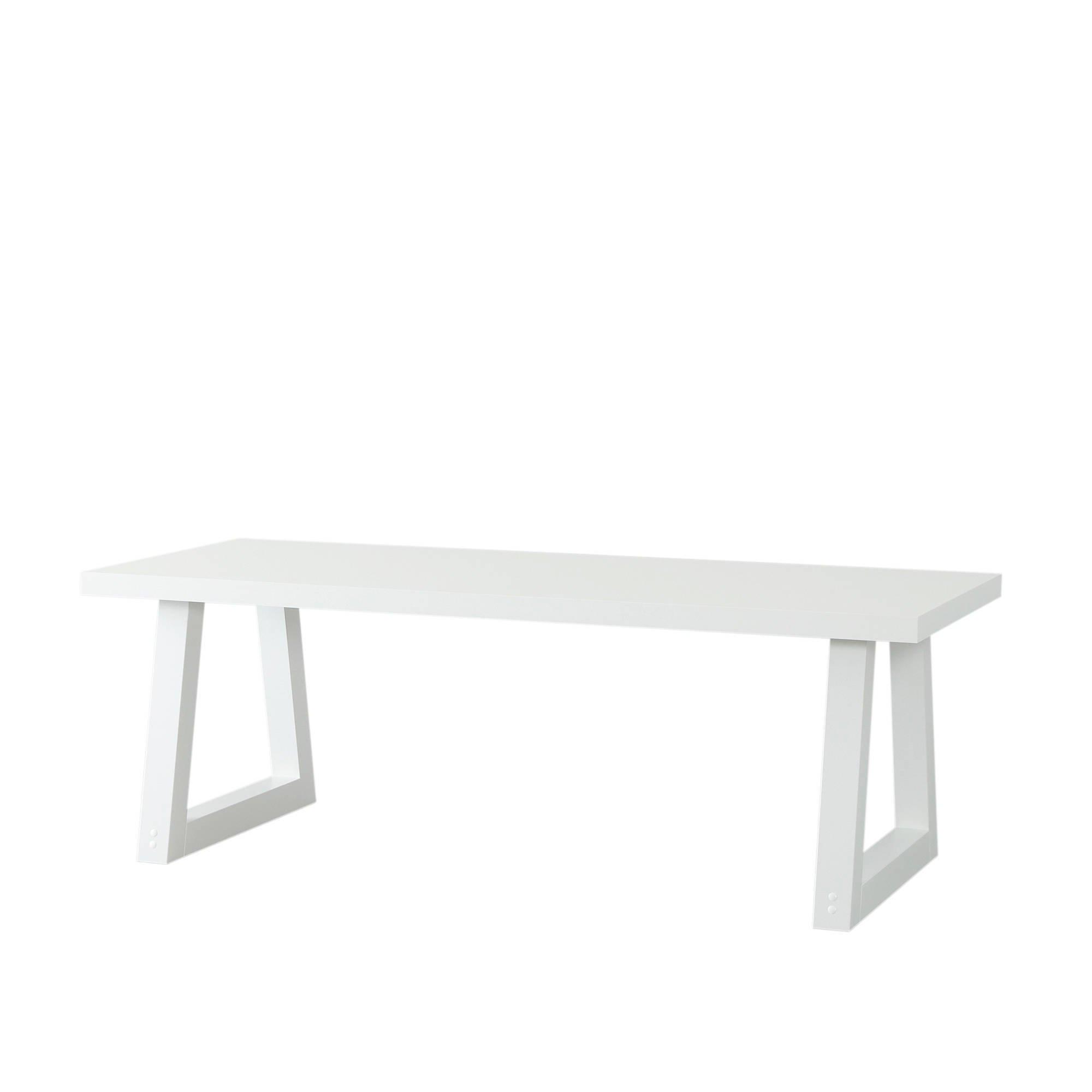 Witte Eettafel 220 Cm.Whkmp S Own Eetkamertafel Bronx 220 Cm Wit Wehkamp