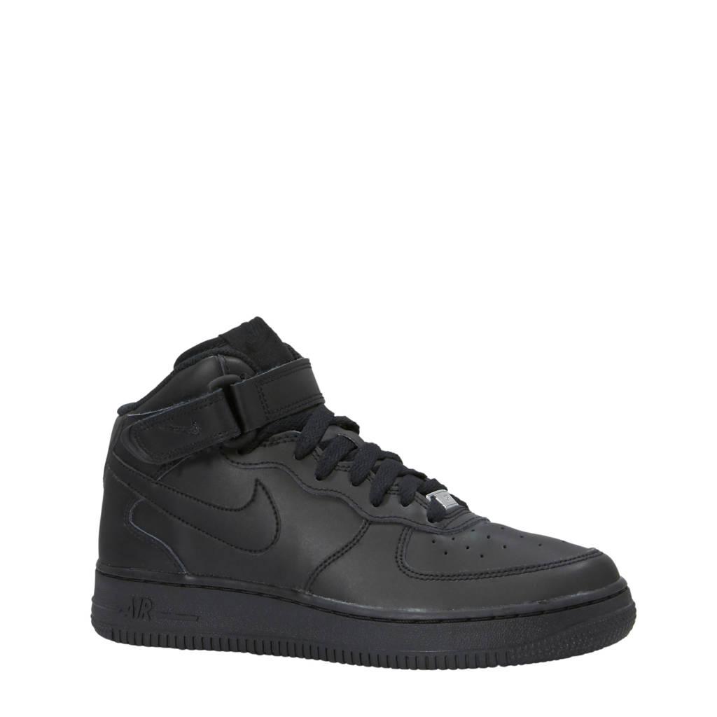 Nike  Air Force 1 Mid sneakers zwart, Zwart