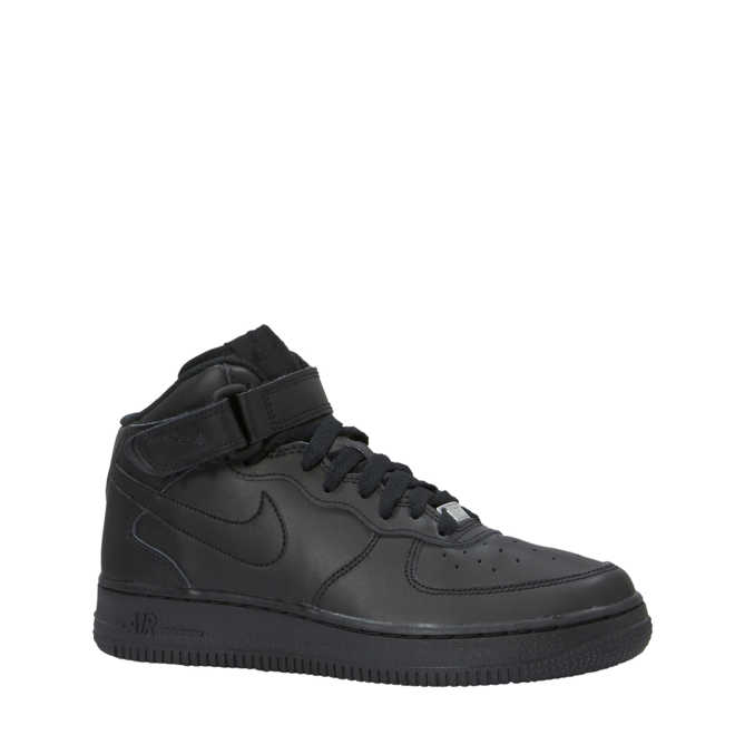 d0d5673bf2f Nike. Air Force 1 Mid sneakers zwart