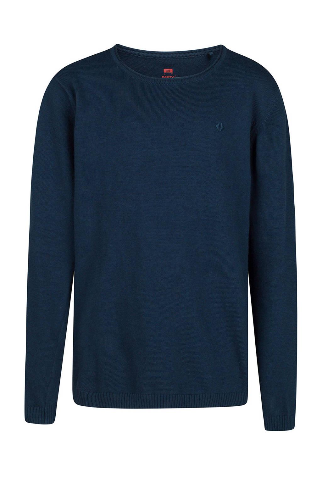 WE Fashion trui donkerblauw, Donkerblauw