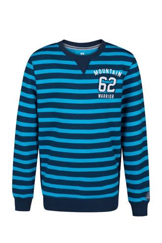 gestreepte sweater blauw