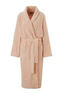 ten Cate fleece badjas lichtroze (dames)