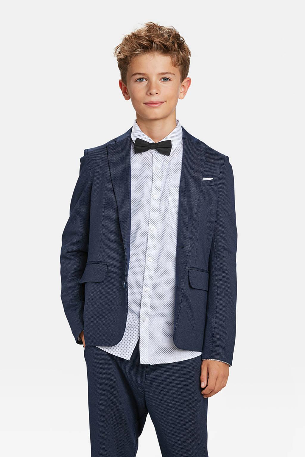 WE Fashion colbert Acer blauw, Donkerblauw