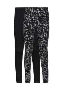 WE Fashion legging - set van 2 (meisjes)