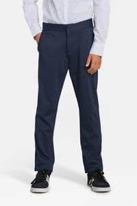 WE Fashion skinny fit pantalon Acer blauw, Donkerblauw