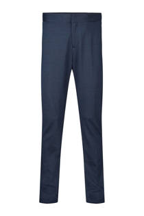 WE Fashion skinny fit pantalon Acer blauw