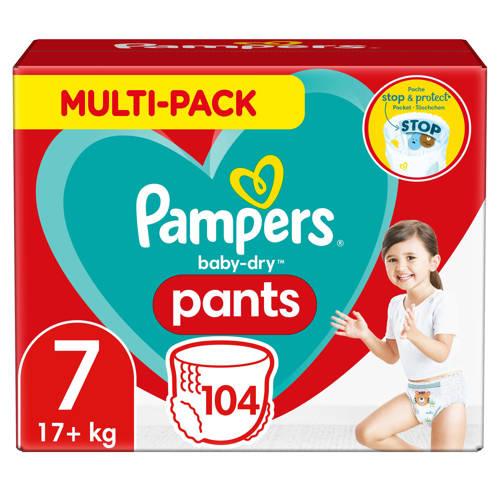 Pampers Baby-Dry Pants maandbox maat 7 (17+ kg) 104 luierbroekjes kopen