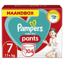 Baby-Dry Pants maandbox maat 7 (15+ kg) 104 luierbroekjes