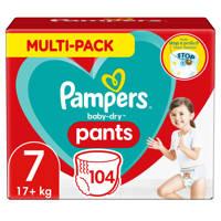Pampers Baby-Dry Pants maandbox maat 7 (17+ kg) 104 luierbroekjes