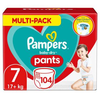 Baby-Dry Pants maandbox maat 7 (17+ kg) 104 luierbroekjes