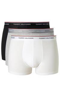 Tommy Hilfiger Big & Tall boxershort (set van 3), Zwart/grijs/wit