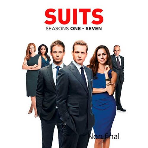 SUITS SEASON 1-7 BILINGUAL -CAST: PATRICK J. ADAMS, MEGHAN MARKLE. TV SERIES, DVDNL
