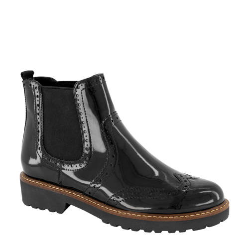 vanHaren Graceland chelsea boots zwart