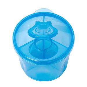 melkpoeder bewaarbakje/dispenser blauw