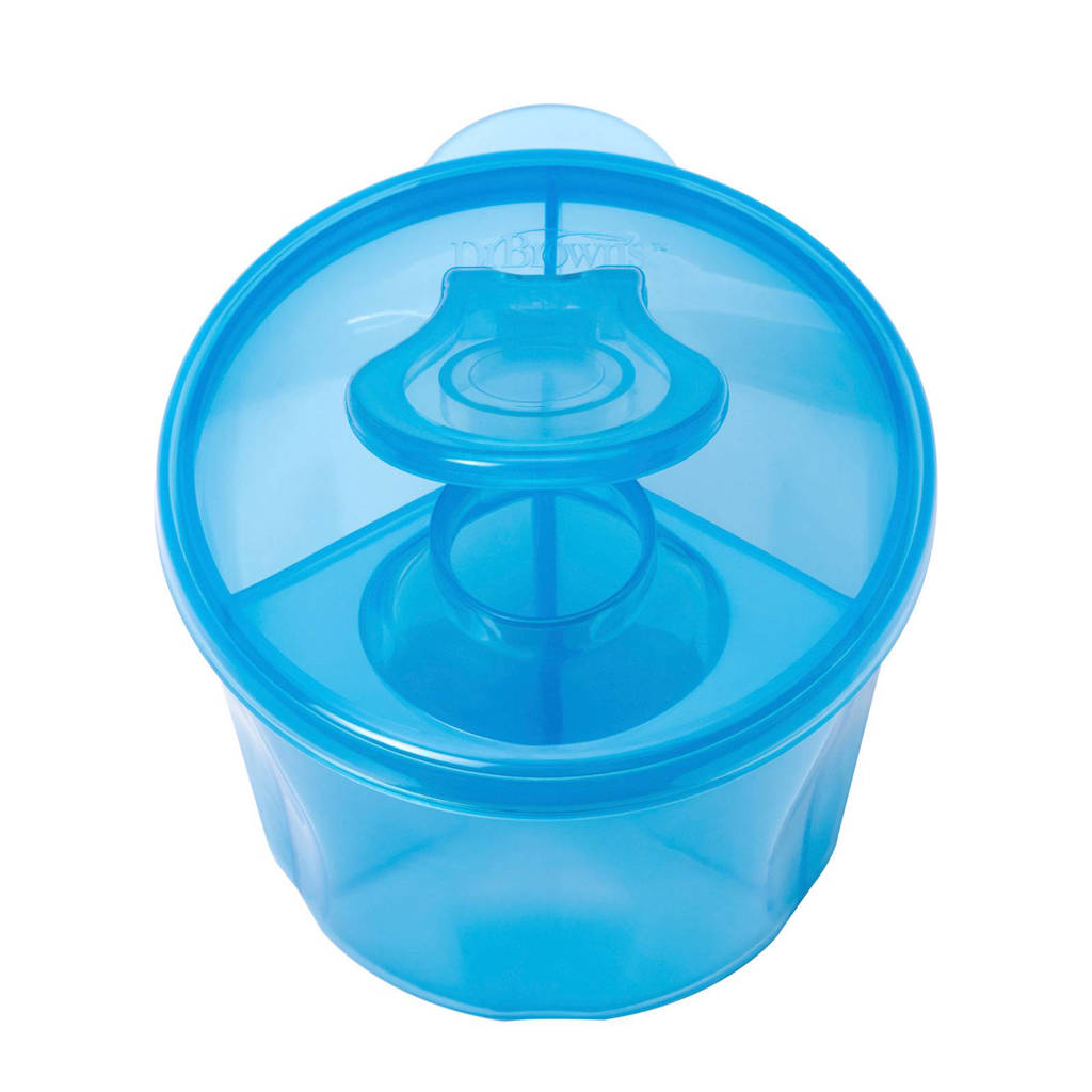 Dr. Brown's melkpoeder dispenser blauw, Blauw