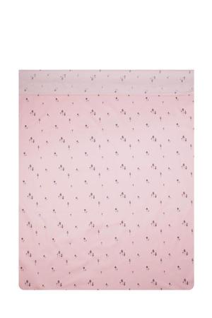 Pink gnome baby wieglaken 80x100 cm