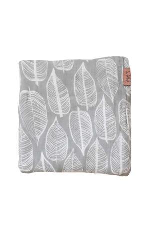 Beleaf hydrofiele doek 120x120 cm warm grey/wit