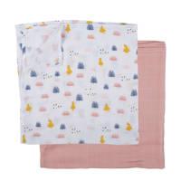 PlumPlum Disney Baby Alice hydrofiele luiers 90x100 cm (2 stuks)