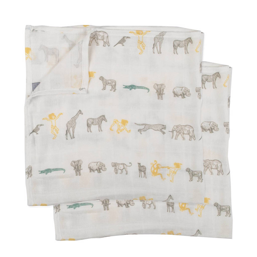 PlumPlum Disney Baby Mowgli hydrofiele luiers 90x100 cm (2 stuks)