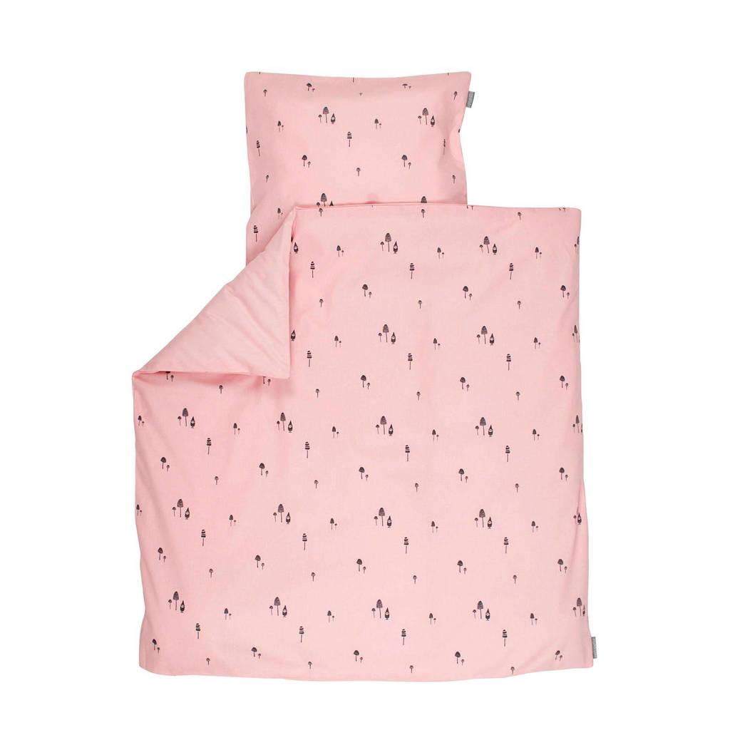 PlumPlum Pink gnome dekbedovertrek ledikant 100x140 cm