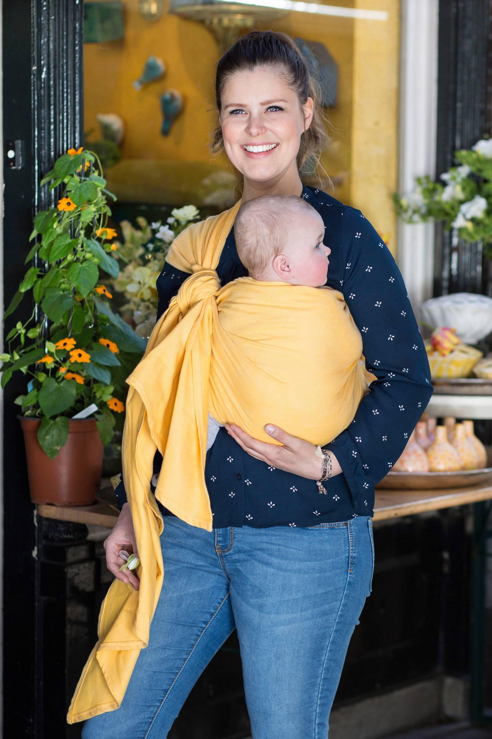 Pure Baby Love Draagdoek Yellow Maat 6 Wehkamp