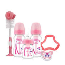 giftset brede halsfles roze