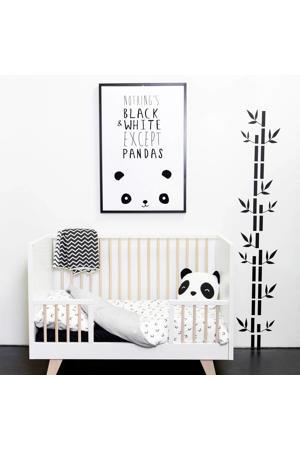 Panda dekbedovertrek ledikant 100x140 cm