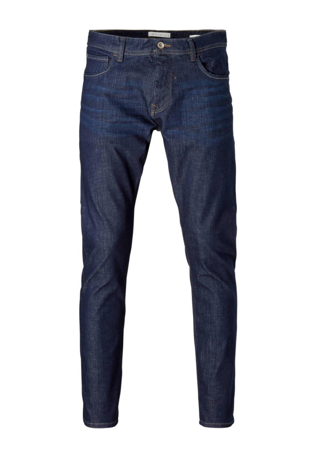 ESPRIT Men Casual jeans slim fit, Dark denim