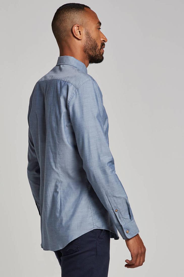 regular wol blauw Collection Men fit met overhemd ESPRIT fqTEYw00