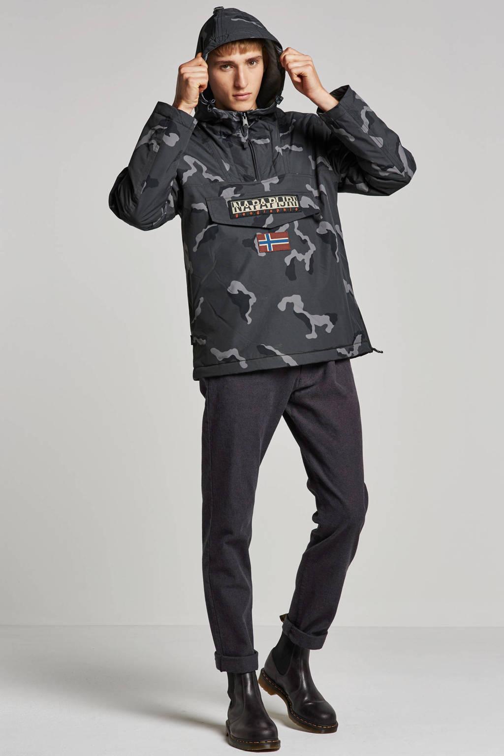 ESPRIT Men Collection slim fit broek grijs, Grijs