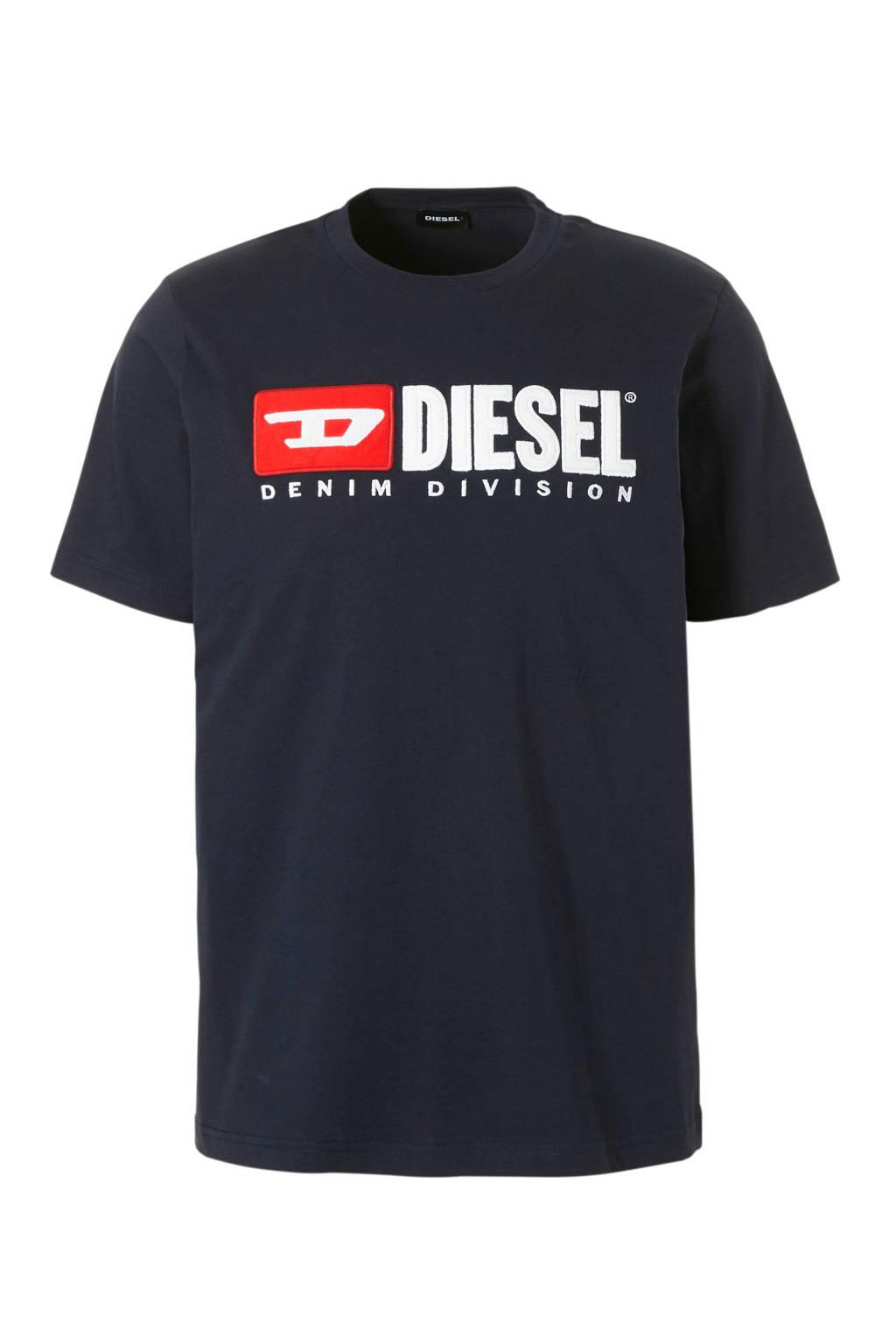 Diesel T-shirt, Donkerblauw