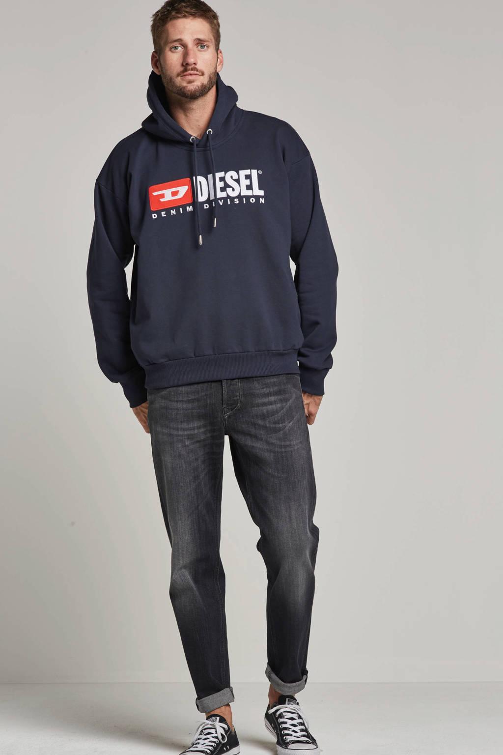 Diesel hoodie, Donkerblauw