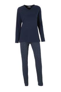 ten Cate katoenen pyjama marine (dames)