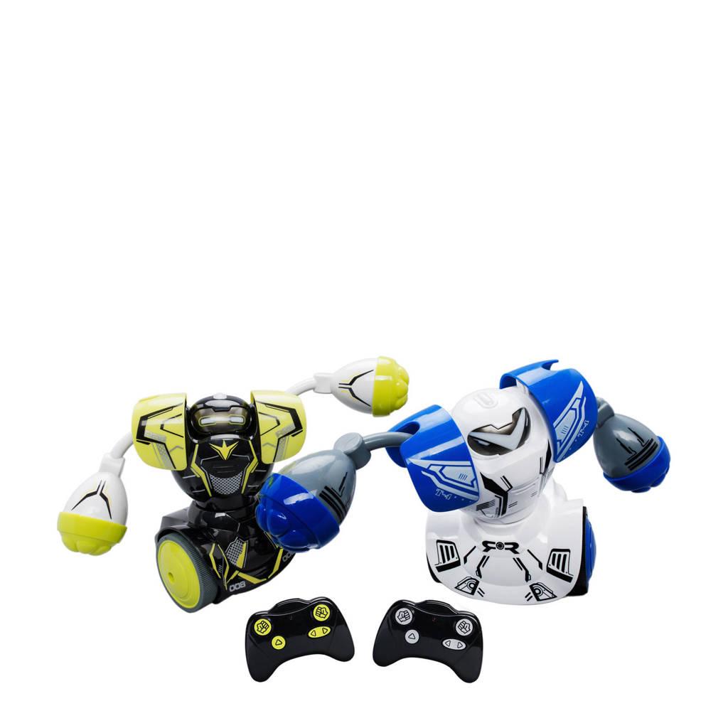 Silverlit  Robo Kombat Twin Battle Pack, Zwart